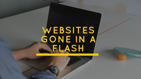 Websites Gone in a Flash